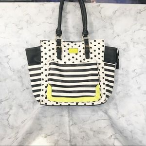 Betsey Johnson Tassel Tote Winged Collection